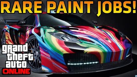 gta    rare paint jobs royal flush dark