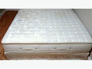 double pillow top king mattress with boxspring campbell With dual pillow top mattress