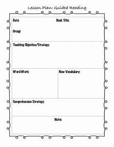 guided reading lesson plan template for the classroom With template meaning in english