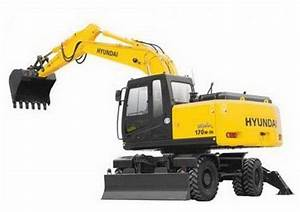 Hyundai R170w-7a Wheel Excavator Service Repair Manual