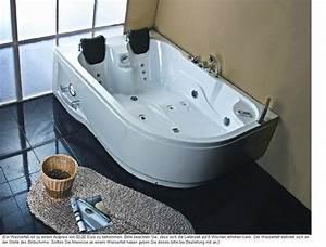 Whirlpool Badewanne 2 Personen : whirlpool badewanne 180x120 luft wasser heizung 31r ebay ~ Bigdaddyawards.com Haus und Dekorationen