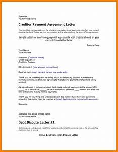 6 hardship letter to creditors applicationletercom With template letters to creditors