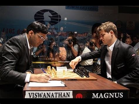 World Chess Championship (2013) Game 7  Vishy Anand Vs