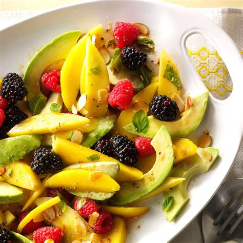 avocado fruit salad  tangerine vinaigrette recipe