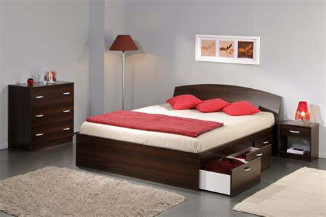 chambre h e lit adulte design softy
