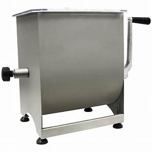 Weston 44 Lb  Stainless Steel Manual Meat Mixer