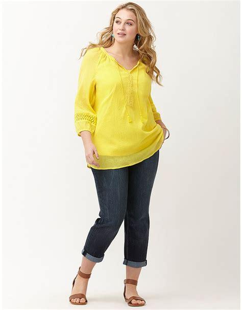 bryant blouses plus size solid peasant top bryant plus size tops
