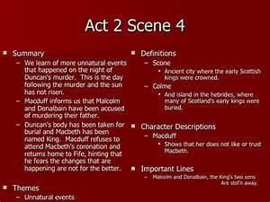 Macbeth summary... Macbeth Scene Quotes