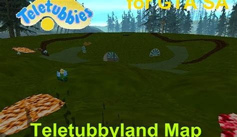 teletubbies teletubbyland map gtaind mod gta indonesia