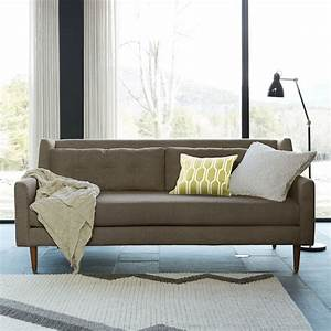 crosby sofa shale 203 cm west elm uk With west elm crosby sectional sofa