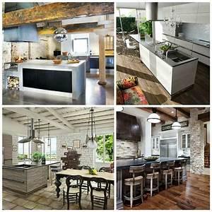 cuisine de charme idees pour la cuisine rustique moderne With idée de décoration de cuisine