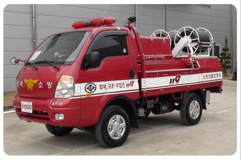 Multi-purpose Fire Fighting Vehicle(korean Type Mountain