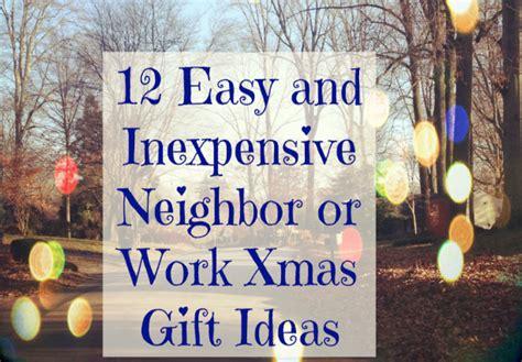 easy neighbor  work christmas gift ideas mythirtyspot