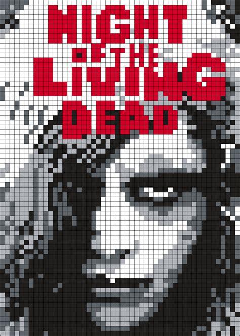 Venom Pixel Art Grid | pixel art de chien | pixel art facile