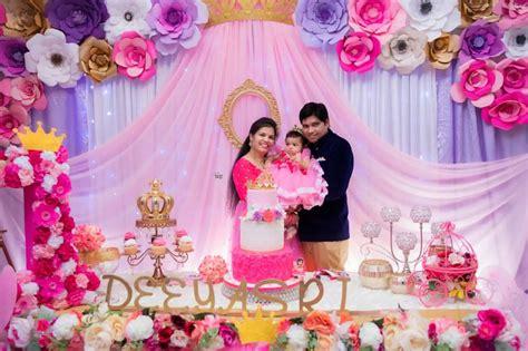 pin  bhoomis  decorations princess birthday party