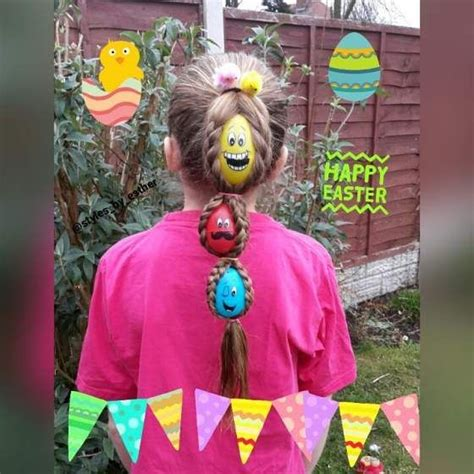 So the extra season arrives and it's era to locate further delightful gruff hairstyles and haircut ideas for a open additional look. 25 Cute Easter Hairstyles for Kids which are insanely easy, effortless & egg-citing   Easter ...