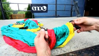 How To Tie Up A Hammock by Eagles Nest Outfitters Junglelink Hammock Shelter System