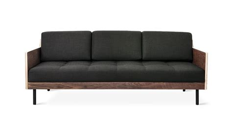 mid century couches gus modern sleek and dramatic the archive sofa is a