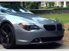 Find used 2005 BMW 645Ci Base Convertible Matte Black 19