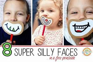 Free Silly Faces Printable | Free Homeschool Deals