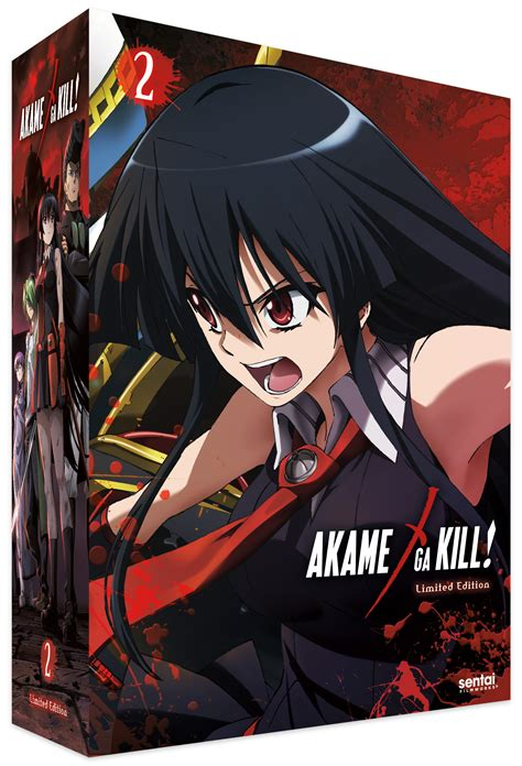 akame ga kill collection limited edition 1 2