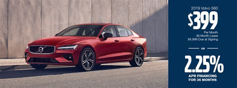 Volvo S60 Lease Price by New 2019 Volvo S60 Luxury Cars For Sale In The Greater