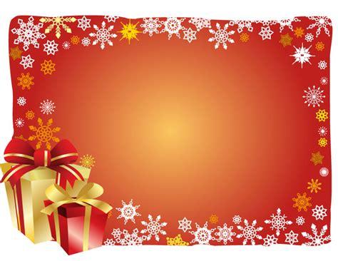 cornici natalizie gratis cornice natalizia con regali frame with gifts