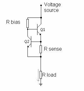 simple current limiter for ltspice physics forums With possibly related to quotself powered current sensingquot circuits