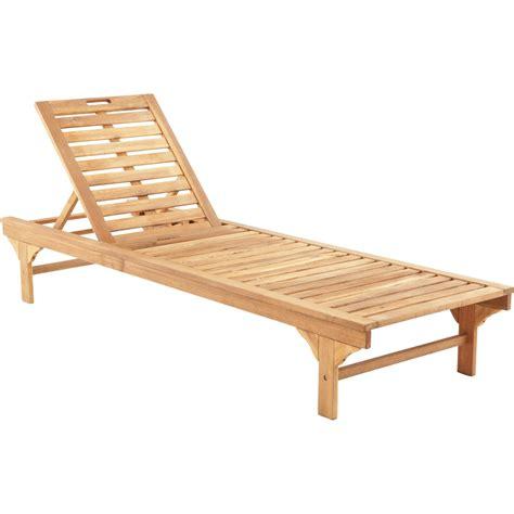 bain de soleil en bois bain de soleil de jardin en bois porto brun leroy merlin