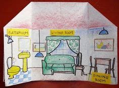 images house colouring pages teaching english