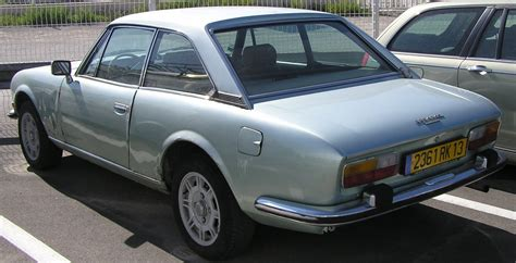 Peugeot 504 Coupe by Peugeot 504 Coupe Ran When Parked