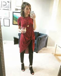 LuLaRoe Carly knotted over skinnies. Go to www.towittowoo ...