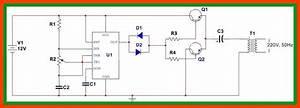 12v Dc To 220v Ac Converter Diy