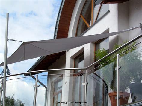 Sonnensegel Für Den Balkon by Sonnensegel F 252 R Den Balkon In Premium Qualit 228 T Pina Design 174