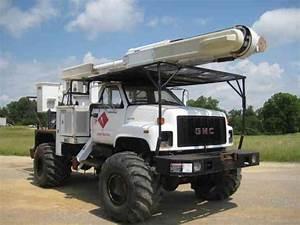 Gmc 7500 4x4  1998    Bucket    Boom Trucks