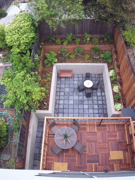 ikea deck tiles patio midcentury with eichler floor to