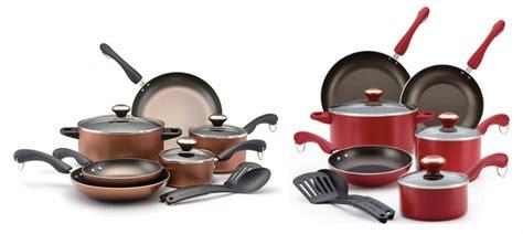 hot paula deen  piece cookware sets    rebate reg