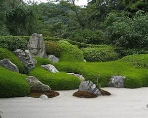 Japanischer Garten Zen Garten Anlegen Bilder Tipps