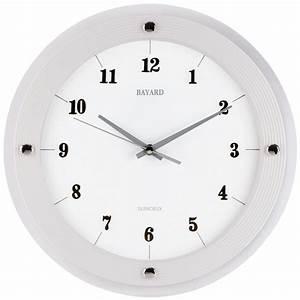 Horloge Murale Moderne : horloge murale moderne design 2017 et horloge murale moderne ronde bayard images ~ Teatrodelosmanantiales.com Idées de Décoration