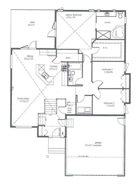 bi level floor plans modified bi level house plans house plans
