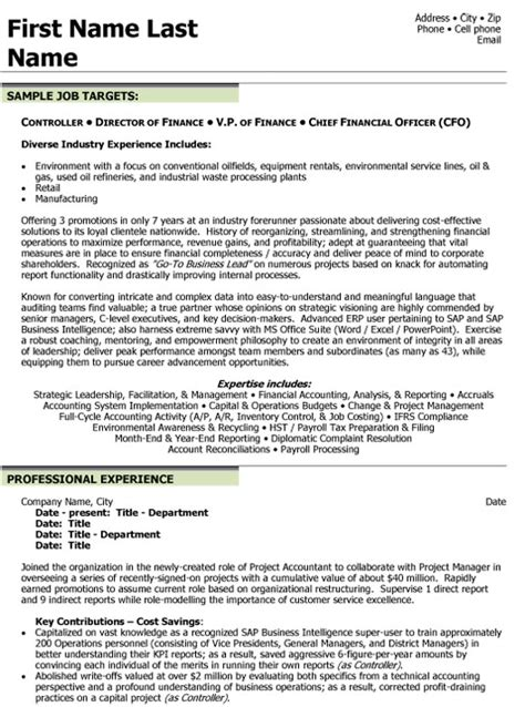 cv financial controller top finance resume templates samples