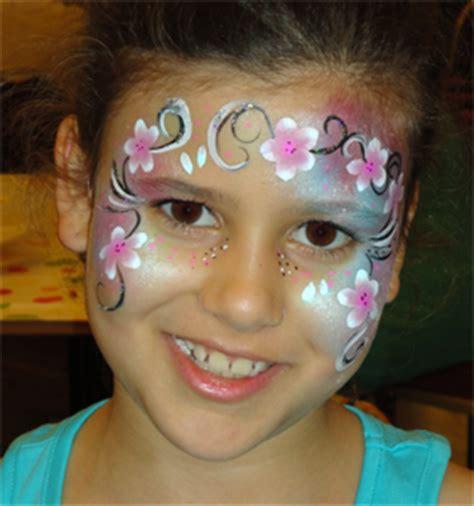 kinderschminken maedchen blumenkinder flower frankfurt
