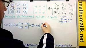 Eigenwerte Einer Matrix Berechnen : der laplacesche entwicklungssatz einf hrung youtube ~ Themetempest.com Abrechnung