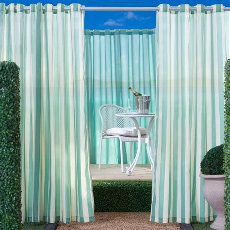manufacturing outdoor curtain panel outdoor