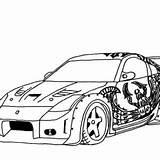 Coloring Pages Cars Drifting Drift Tokyo Honda S2000 Dk Street Kidsplaycolor sketch template