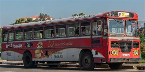 guide  riding buses  sri lanka  blog