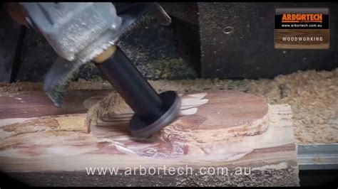 arbortech  woodworking tool mini turbo wood shaping blade youtube