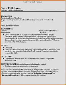 4 how to write a resume college student lease template With how to write a resume for school