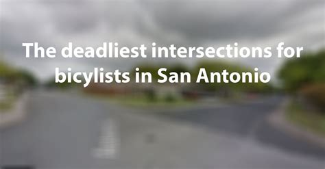 dangerous intersections  bicyclists  san