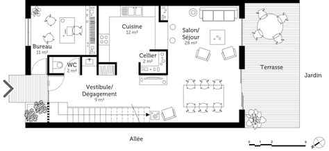 cuisine pratique et fonctionnelle plan maison à étage 130 m ooreka